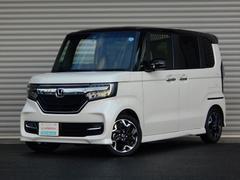 N BOXカスタムG・Lターボホンダセンシング 当社デモカー インターナビ 両