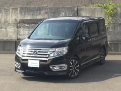 ステップワゴンスパーダZ クールスピリット ホンダ純正メモリーナビ フルセグTV