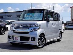 沖縄の中古車 ホンダ N BOX 車両価格 108.8万円 リ済別 平成25年 4.7万K シルバーメタリック