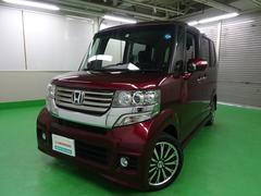 N BOXカスタムG・ターボAパッケージ 社外ナビ 衝突軽減ブレーキ