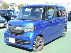 N BOXカスタムG・EXホンダセンシング デモカー 安全ブレーキ Bluet