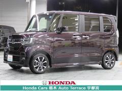 N BOXカスタムG・Lホンダセンシング デモカー・ナビ・衝突軽減ブレーキ・E