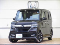 N BOXカスタムG・Lターボホンダセンシング 試乗車 ドラレコ センシング