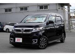 沖縄の中古車 ホンダ N−WGNカスタム 車両価格 140.8万円 リ済別 平成29年 0.7万K ブラックパール