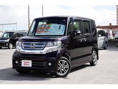 沖縄の中古車 ホンダ N BOX+カスタム 車両価格 138.8万円 リ済別 平成29年 1.1万K パープルパール