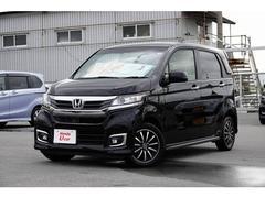 沖縄の中古車 ホンダ N−WGNカスタム 車両価格 136.8万円 リ済別 平成29年 0.9万K ブラックパール