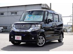 沖縄の中古車 ホンダ N BOXカスタム 車両価格 117.8万円 リ済別 平成26年 4.4万K パープルパール