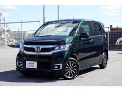 沖縄の中古車 ホンダ N−WGNカスタム 車両価格 139.8万円 リ済別 平成30年 0.3万K グリーンパール