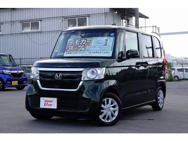 沖縄の中古車 ホンダ N-BOX 車両価格 159.8万円 リ済別 平成30年 0.6万km ブラウンパール