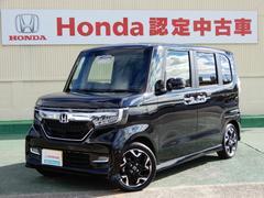 N BOXカスタムG・EXターボホンダセンシング 当社デモカー ETC フルセ