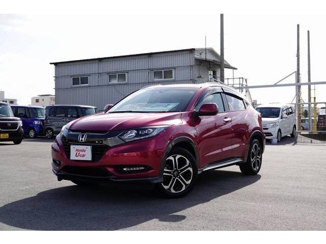 沖縄県の中古車ならヴェゼル ハイブリッドX・ホンダセンシング デモカーアップ車