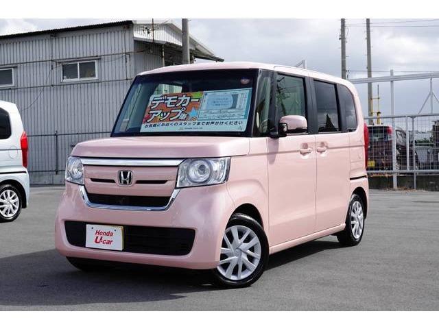 沖縄県の中古車ならN-BOX G・EX デモカーアップ車
