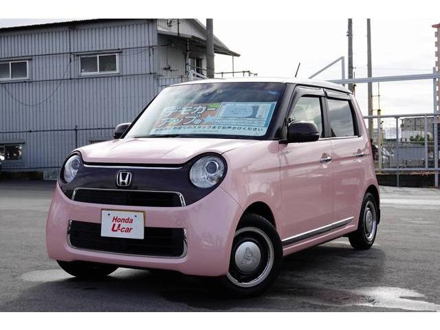沖縄の中古車 ホンダ N-ONE 車両価格 145.8万円 リ済別 平成30年 0.8万km ピンクパール