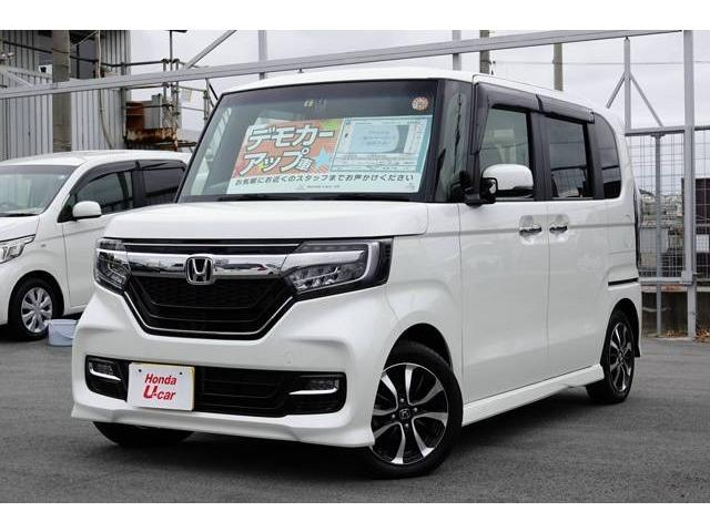 沖縄県の中古車ならN BOXカスタム G・EX デモカーアップ車