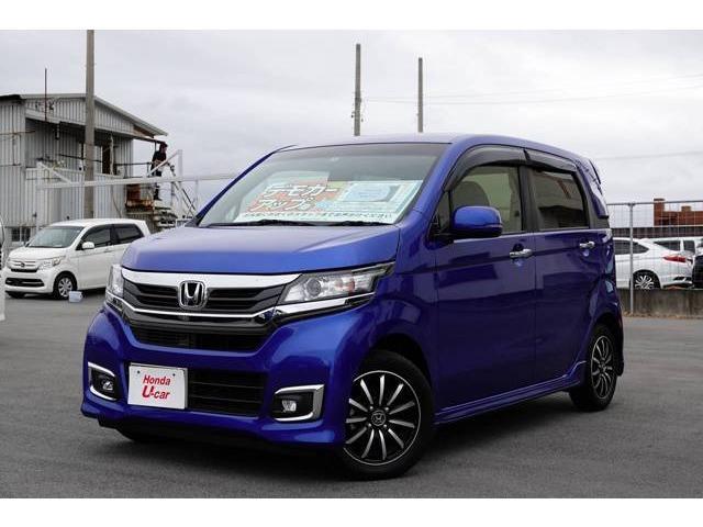 沖縄県の中古車ならN-WGNカスタム G・Lパッケージ デモカーアップ車