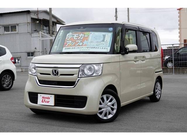沖縄県の中古車ならN BOX G・Lホンダセンシング デモカーアップ車