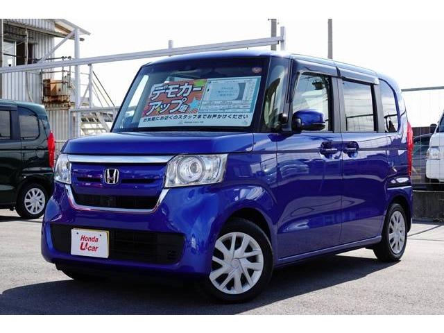 沖縄県の中古車ならN-BOX G・EXターボホンダセンシング デモカーアップ車