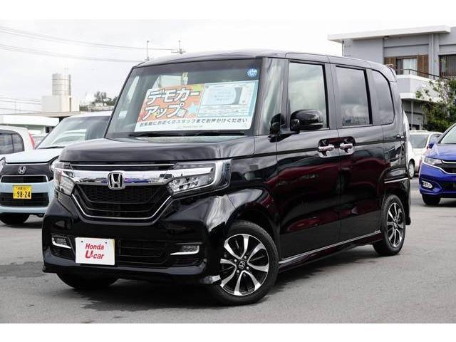 沖縄県の中古車ならN BOXカスタム G・EX デモカーアップ