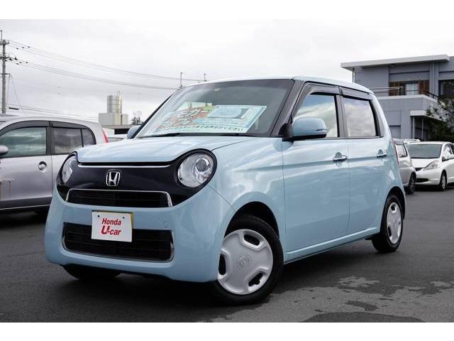 沖縄の中古車 ホンダ N-ONE 車両価格 126.8万円 リ済別 平成30年 0.4万km ブルー