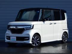 N BOXカスタムG・Lホンダセンシング 当社デモカー 8インチナビ 両側電動