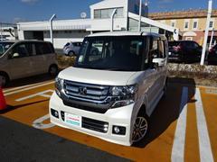 N BOXカスタムG・Lパッケージ 軽自動車 メモリーナビ フルセグTV ET