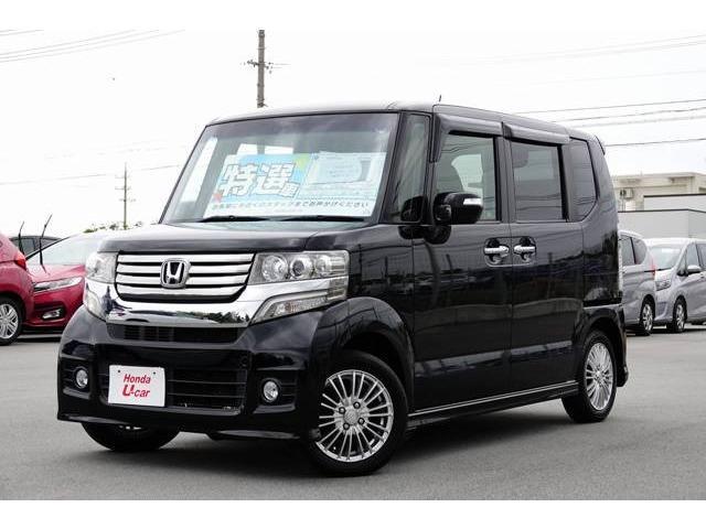 沖縄県の中古車ならN-BOXカスタム G ナビ・リアカメラ・ETC