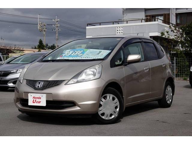 沖縄の中古車 ホンダ フィット 車両価格 54.8万円 リ済別 平成22年 6.1万km ベージュメタリック