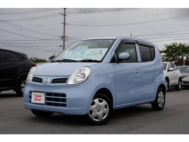 沖縄の中古車 日産 モコ 車両価格 35.8万円 リ済別 平成22年 5.3万km ブルー