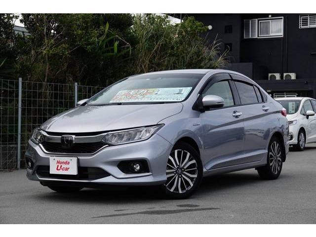 沖縄県の中古車ならグレイス ハイブリッドEX・ホンダセンシング デモカーアップ