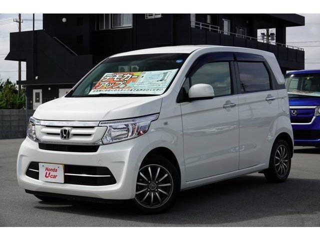 沖縄県の中古車ならN-WGN G・ターボパッケージ デモカーアップ