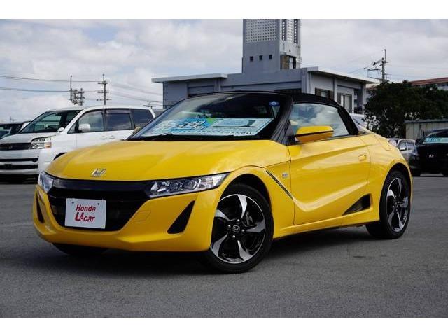 沖縄県の中古車ならS660 α オープン