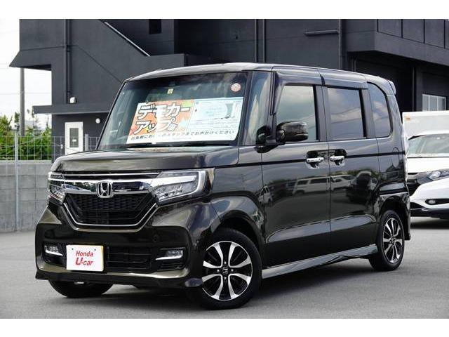 沖縄の中古車 ホンダ N-BOX 車両価格 169.8万円 リ済別 平成29年 0.4万km ブラウンパール