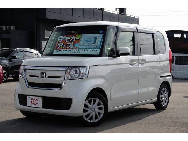 N-BOX(沖縄 中古車) 色:ホワイトパール 価格:149.8万円 年式:平成30年 走行距離:0.3万km