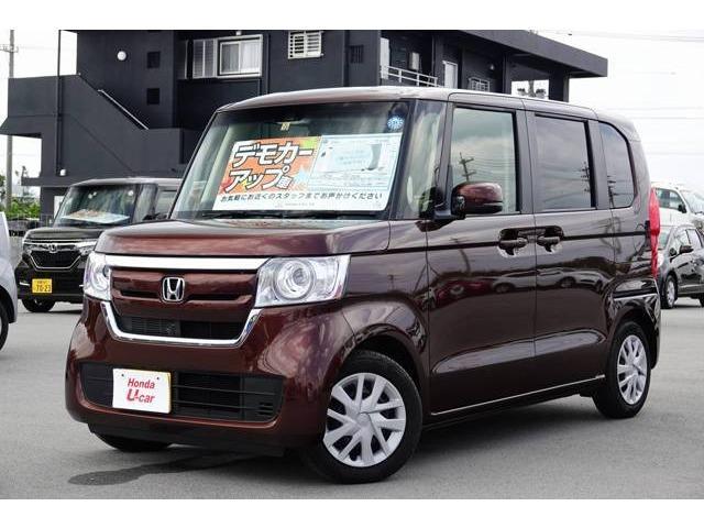 N-BOX(沖縄 中古車) 色:ブラウンパール 価格:149.8万円 年式:平成29年 走行距離:1.1万km