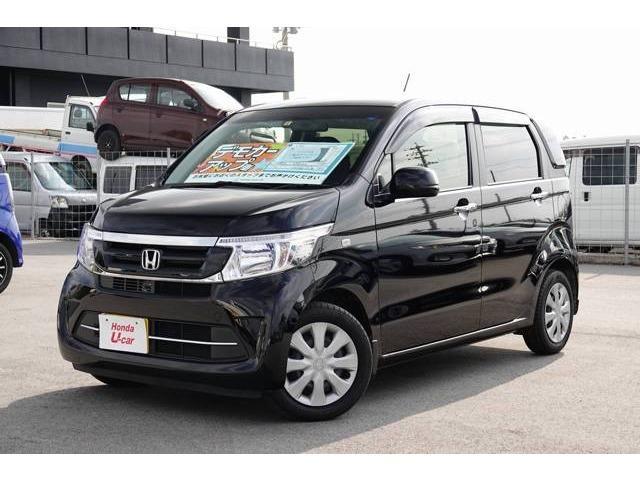 N-WGN(沖縄 中古車) 色:ブラックパール 価格:126.8万円 年式:平成30年 走行距離:0.7万km