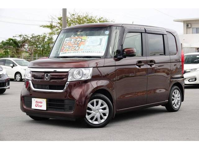 N-BOX(沖縄 中古車) 色:ブラウンパール 価格:159.8万円 年式:平成30年 走行距離:0.6万km