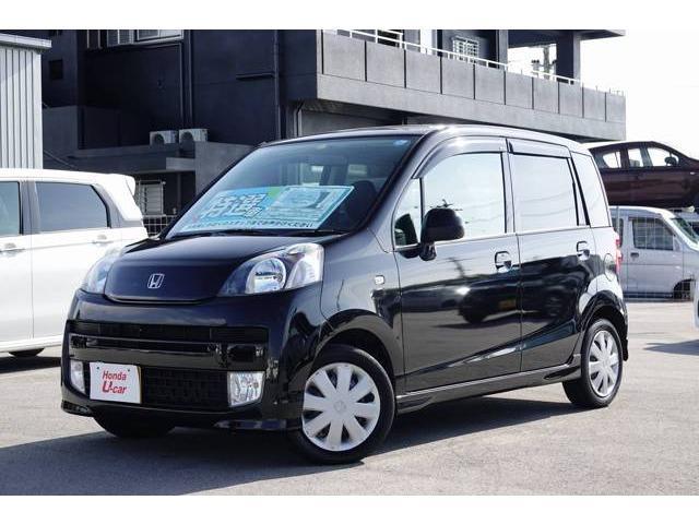 沖縄の中古車 ホンダ ライフ 車両価格 52.8万円 リ済別 2009(平成21)年 5.8万km ブラックパール