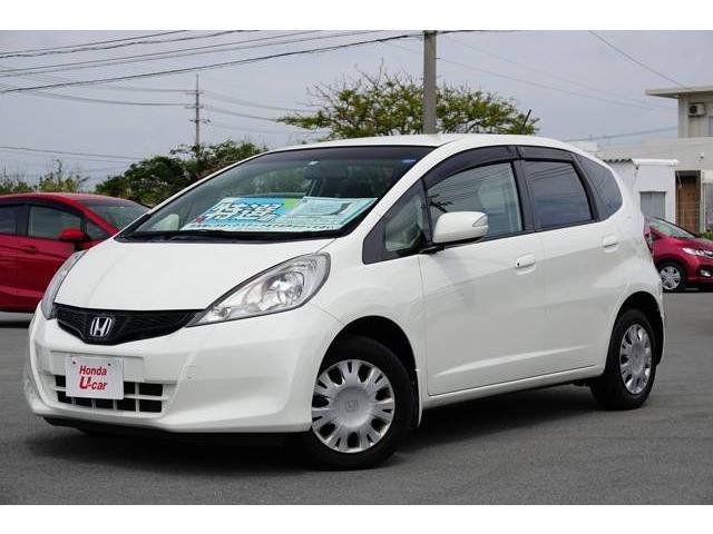 沖縄県の中古車ならフィット 13G・スマートセレクション ワンセグ・リアカメラ付き