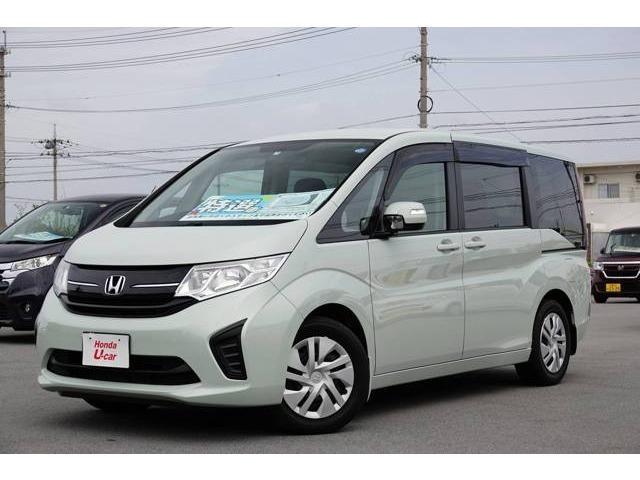 沖縄県の中古車ならステップワゴン B デモカーアップ