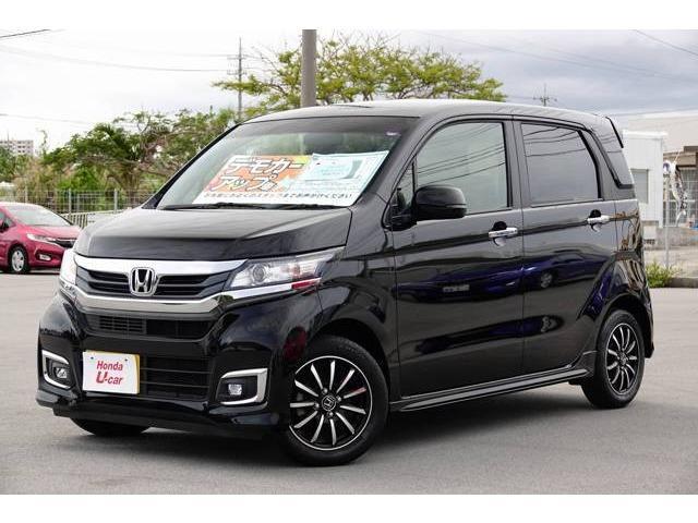 沖縄県の中古車ならN-WGNカスタム G・ターボパッケージ デモカーアップ