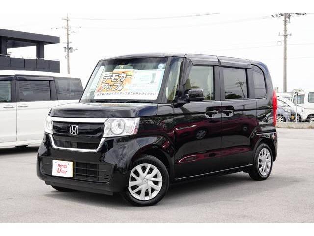 N-BOX(沖縄 中古車) 色:ブラックパール 価格:149.8万円 年式:平成30年 走行距離:0.3万km