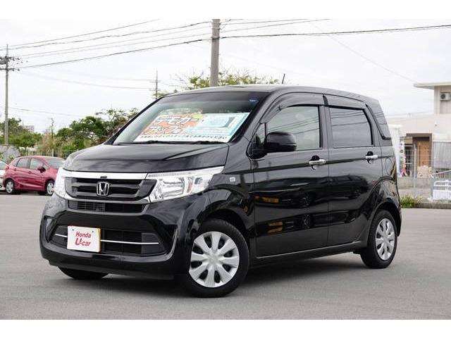 N-WGN(沖縄 中古車) 色:ブラックパール 価格:126.8万円 年式:平成30年 走行距離:0.6万km