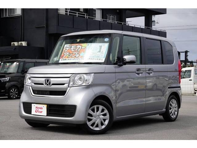 N-BOX(沖縄 中古車) 色:シルバーメタリック 価格:149.8万円 年式:平成30年 走行距離:0.3万km