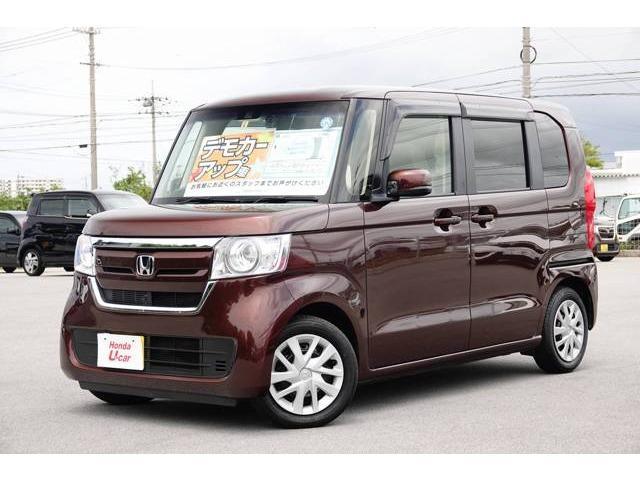 N-BOX(沖縄 中古車) 色:ブラウンパール 価格:149.8万円 年式:平成30年 走行距離:0.6万km