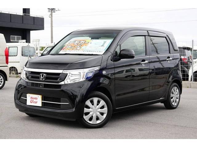 N-WGN(沖縄 中古車) 色:ブラックパール 価格:129.8万円 年式:平成30年 走行距離:0.2万km