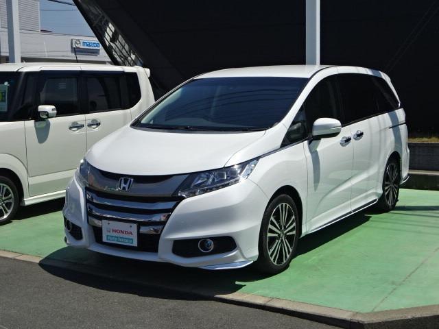 ホンダ アブソルート・EX リア席モニター オートライト付き