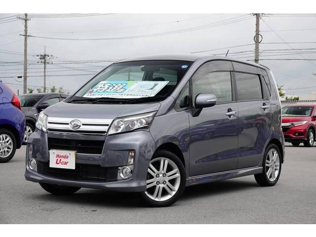 沖縄の中古車 ダイハツ ムーヴ 車両価格 78.8万円 リ済別 2013(平成25)年 2.3万km グレーメタリック