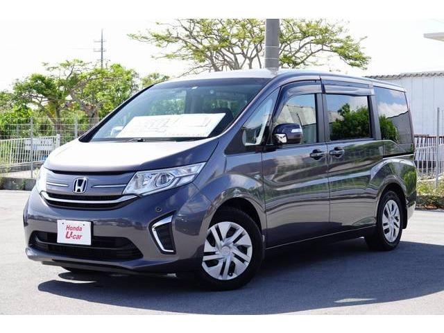 ステップワゴン(沖縄 中古車) 色:グレーメタリック 価格:133.8万円 年式:2016(平成28)年 走行距離:9.2万km