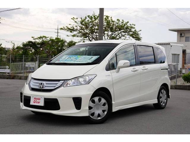 沖縄県の中古車ならフリードハイブリッド ジャストセレクション ナビ・ETC