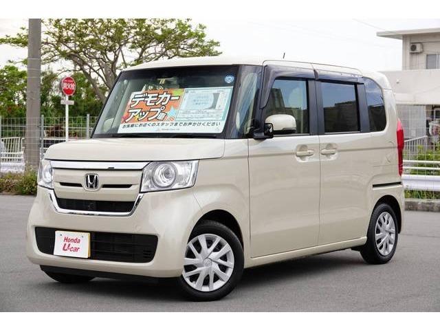 N-BOX(沖縄 中古車) 色:ベージュ 価格:149.8万円 年式:2018(平成30)年 走行距離:0.5万km